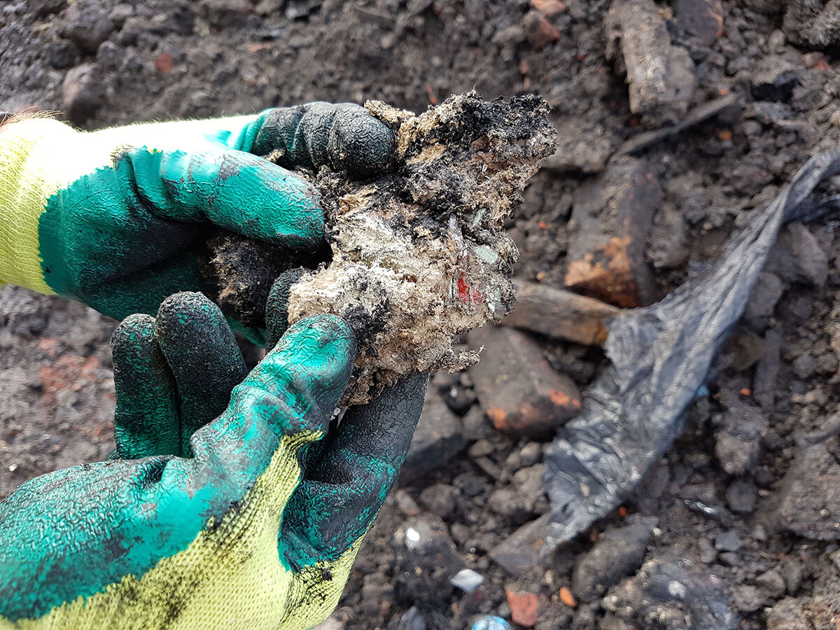 Earth environmental and geotechnical soil waste classification asbestos