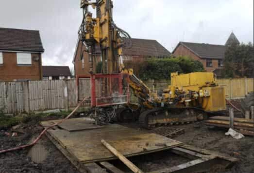 Coal Mine Shaft Investigation & Treatment, Wigan