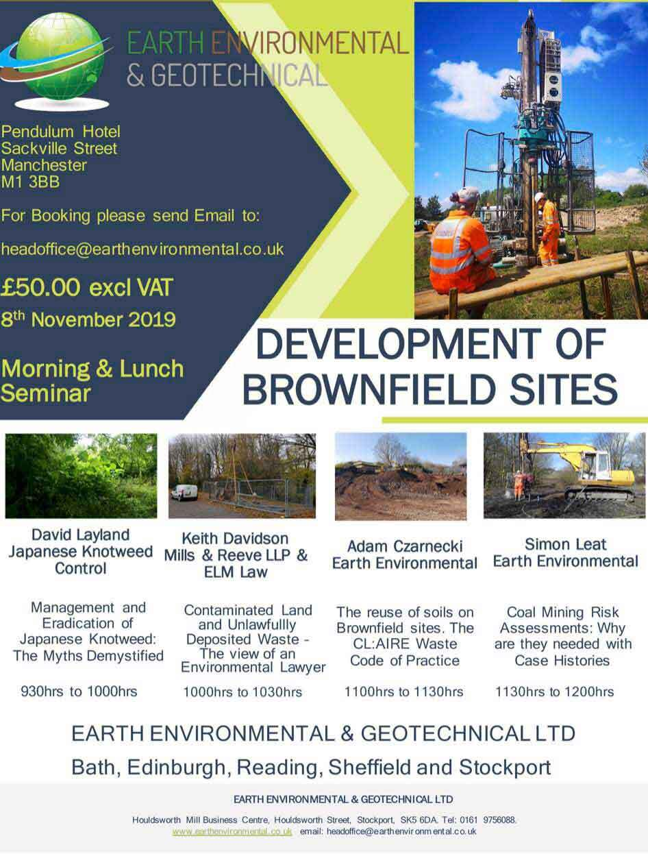 Brownfield Stockport Seminar