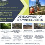 A fantastic opportunity to join our experts on 8th November 2019. If you want to learn more about the development of brownfield sites, we have a fantastic opportunity to meet the experts. On Friday 8th November 2019 join Earth Environmental & Geotechnical team and industry experts, to access their expertise on developing Brownfield sites. The seminar targets specific challenges of developing previously developed land with presentations from Environmental Lawyers, Market leaders in the management and treatment of non-native invasive plant species. Members of the Society of Brownfield Risk Assessment (SOBRA), Geotechnical Consultants, ground investigation and geoenvironmental consultants, all with a wealth of knowledge and expertise in Developing Brownfield sites.