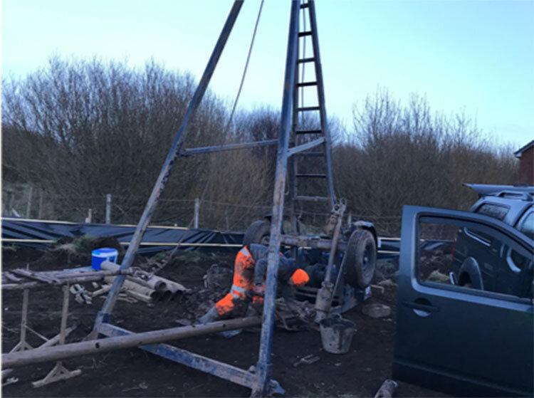 Site Investigation Drilling Rig