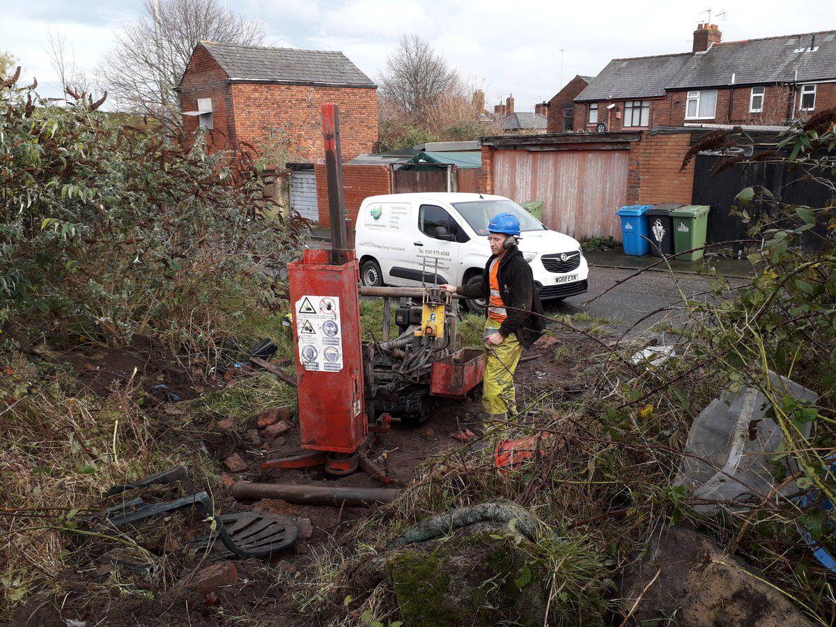 ground investigation work in runcorn