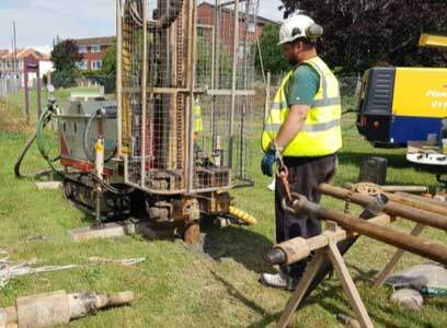 Geotechnical Site Investigation and coal mining risk assessment